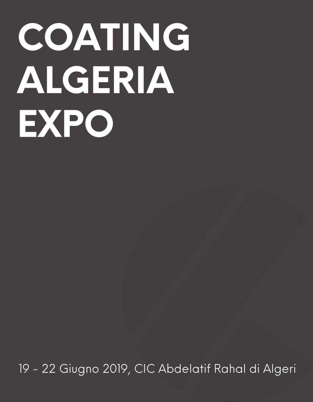 coating algeria 2019 immea dosatrici fiera
